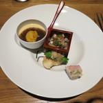 モダン和食 サル ドゥ マキノ - 前菜盛り合わせ