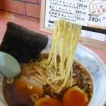 一風亭 - 麺アップ