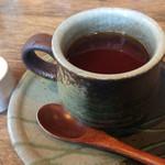 マメゾウアンドカフェ - ランチ定食のドリンク 私は紅茶のストレート❤︎