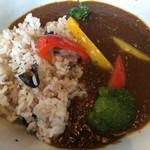 マメゾウアンドカフェ - 野菜たっぷりのカレーです❤︎