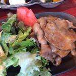 マメゾウアンドカフェ - 豚肉美味しい〜❤︎