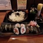 もちもちうどんの巌流島 - 料理写真:海鮮漁師巻セット