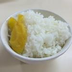 大栄ラーメン - ライス小150円