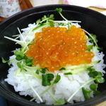 四ツ木製麺所 - いくら丼