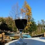 高見石小屋 - 2014,10月  ワインが旨い!