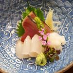 穂の花 - カツオ、ヒラメ、ミズダコ