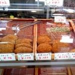 肉の池田屋 - 揚げ物:陳列図 by ももち