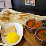 ガネーシャ - 料理写真:ガネーシャランチセット