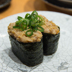 大起水産 回転寿司 - 納豆(100円外税)