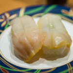 大起水産 回転寿司 - つぶ貝(150円外税)