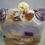 パティスリー・ウー - マロンのケーキ