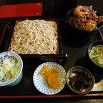そば処 多賀家 - 【ランチ】かき揚げ丼セット