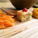 ソングバードカフェ - 前菜のアップ