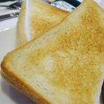 モスバーガー - 2014.10_モーニングプレート(460円)トースト