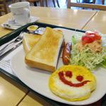 モスバーガー - 2014.10_モーニングプレート(460円)
