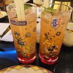 シェフ・ミッキー - ディズニー夏祭りスペシャルドリンクグラス:1860円:グラスは持ち帰れます