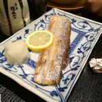 会乃風 - 太刀魚の塩焼き