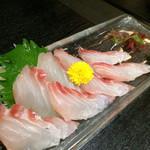 会乃風 - 真鯛の刺身