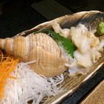 会乃風 - バイ貝の刺身