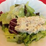 ラ・フェスタ - ランチセットのサラダ