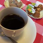 ラ・フェスタ - ランチセットのコーヒー