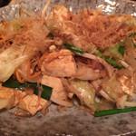 きゅらむん - 島豆腐のチャンプルー