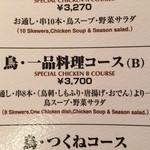 31494297 - この日は鳥・一品料理コースにしました、一品料理と串が8本提供される