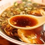 つぶ焼 かど屋 - ラーメン(スープ)