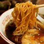 つぶ焼 かど屋 - ラーメン(麺)