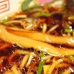 つぶ焼 かど屋 - ラーメン(メンマ)