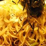 31498121 - ぶっかけわさび菜蕎麦 ズーム