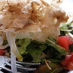 スポーティフ カフェ - 揚げ茄子サラダ