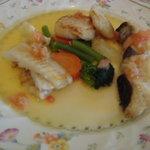 プティ・タ・プティ - プティ・タ・プティさん、魚3種のソテー、美味しいね