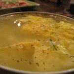 honkakuyakinikujukouenamatsubo - 玉子スープ/300円