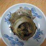 三益寿司 - さざえのつぼ焼き
