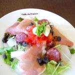 Cafe de 佛蘭西 - 佛蘭西オリジナルサラダ(日替わり。写真は一例です)