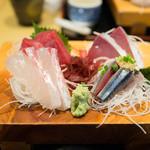 31500454 - 刺身天ぷら定食の刺身
