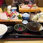 31500456 - 刺身天ぷら定食