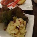 ニクバル・プロベッチョ - トリュフ風味ベーコン・ポテトサラダ280円は普通かな・・・