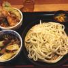 Kyuubeeya - 料理写真:秋なすきのこ汁うどん+ミニ天丼