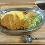 ボルガ食堂 - 「ボルガライス」950円