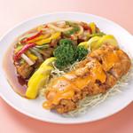 中華風家庭料理 開 - 揚げ鶏2種