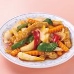 中華風家庭料理 開 - 酢豚