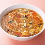 中華風家庭料理 開 - 酸辣湯麺