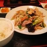 波食波食 - スタミナ野菜定食
