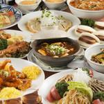 中華風家庭料理 開 - コース料理