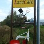 ランドカフェ - お店の出入口