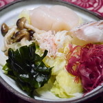 陸蒸気 - 山海サラダ 冷し温野菜