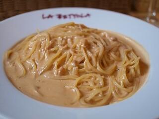 ラ・ベットラ・ダ・オチアイ - 新鮮うにのスパゲティ(Bコース)