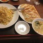 你好 - 焼餃子+五目炒飯
